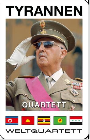 WELTQUARTETT-Quartette: Tyrannen, Tyrannen II, Tyrannen ...